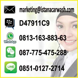 hubungi marketing istanacarwash Telepon Marketing Peralatan Cuci Mobil Motor