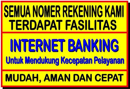 INTERNET BANK READY Rekening Pembayaran