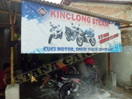 KINCLONG MOTOR WASH 05 Kinclong Steam