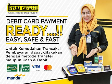 debit card ready Rekening Pembayaran